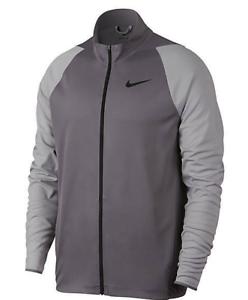 7d7663ab8550 Nike Men s Epic Knit Gunsmoke Grey Black Training Jacket (928026-036 ...