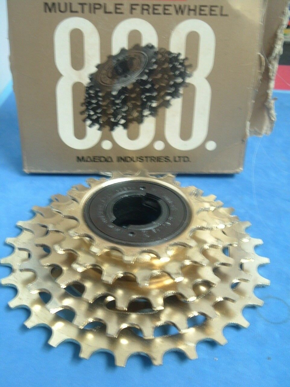 SunTour Pro-Compe gold  NEW  NOS 14T-21T  5-Speed Road Freewheel Vintage NIB +++