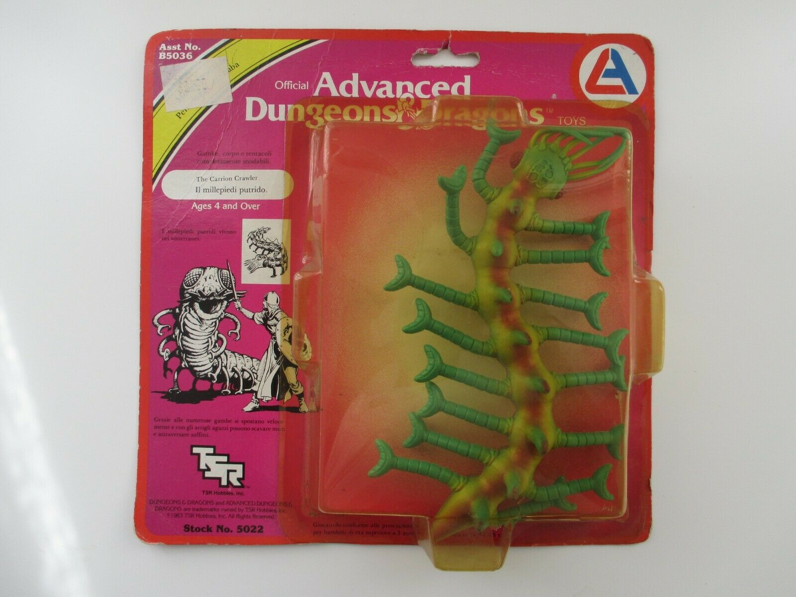 THE voitureRION CRAWLER ADVANCED DUNGEONS & DRAGONS  HOBBIES 5022 NEUF SCELLE 1983  à vendre