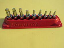 New Listing209eftxby Snap On 9 Pc T15 T55 Hd Torx Driver Socket Set 14 Amp 38 Drive