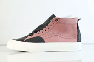 8dd7d6883c Vans TH Taka Hayashi SK8 Skool Lx Nubuck Leather Old Rose VN0A3H2OH8 ...