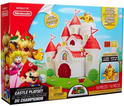 Super Mario Mushroom Kingdom Castle Playset 2.5 Bowser Exclusive