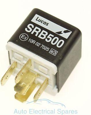 Lucas SRB 111 Classic Chrome Relay 12 Volt 20 Amp