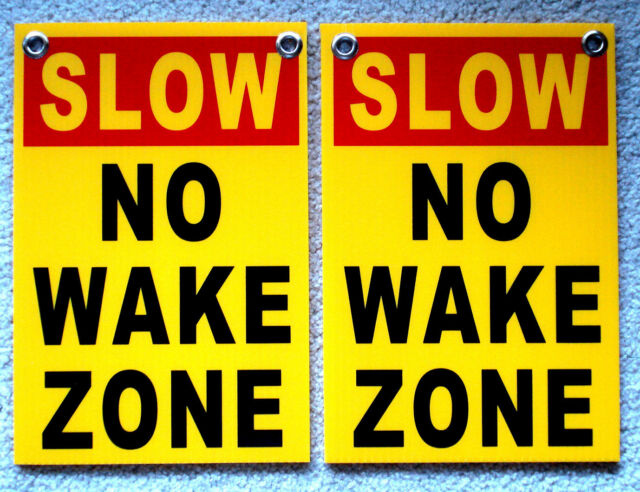 4 PLEASE SLOW DOWN  Coroplast SIGNS with Grommets 12x18