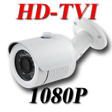 HD TVI 1080P Bullet Camera 2MP CMOS 3.6mm Surveillance Outdoor Weatherproof