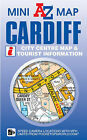 Cardiff Mini Map by Geographers' A-Z Map Company (Sheet map, folded, 2011)