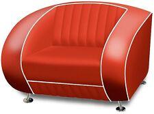 SF-01-R Bel Air Fifties Style Designer Sofa Wohnzimmer Sessel Retro 50er Jahre