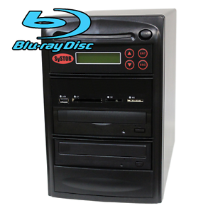 SySTOR 1-1 USB/SD/CF/MS Multi Media Flash Backup CD DVD Blu-ray Duplicator Tower