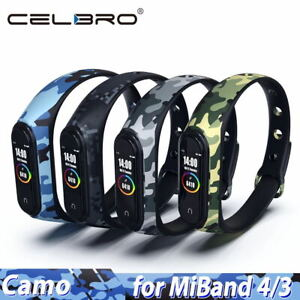 For-Xiaomi-MI-Band-4-3-Strap-Replacement-Bracelet-Silicone-Wristband-Watch-Band