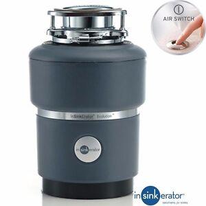 Details About Insinkerator Ise Evolution 100 Kitchen Sink Waste Disposal Unit