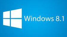 Windows 8.1 All Versions 32 & 64 bit  - Reinstall,  Recovery,  Repair DVD w/Hd