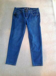 Clothing, Shoes & Accessories Mossimo Jeans Junior Size 15 casual Skinny Stretch Dark Wash Blue Euc