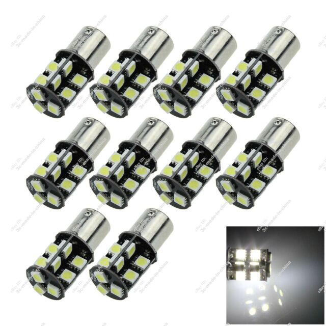 10X 1156 BA15S 19 SMD 5050 LED Turn Light Tail Lamps Canbus Error Free Car ZD009