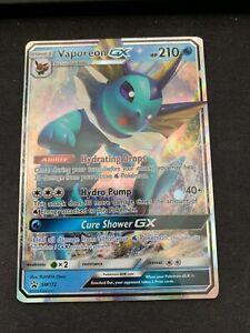 Vaporeon GX-sm172-promo Pokemon Near Mint Aquana