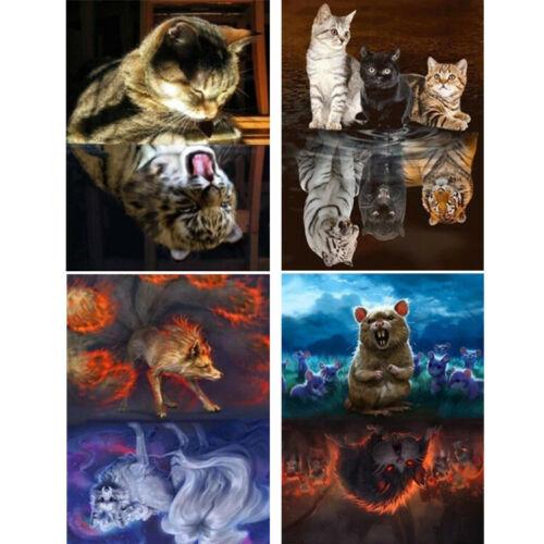 Animal Full Drill 5D Diamond Painting Embroidery Art DIY Cross Craft Stitch Kits
