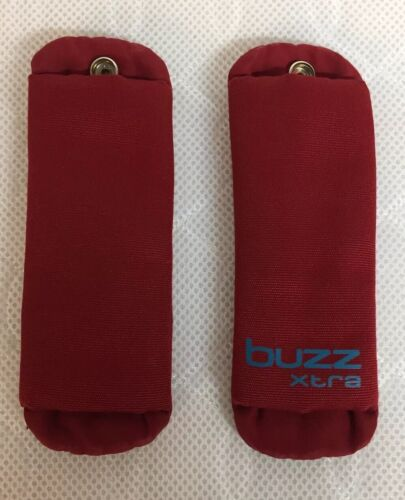 Quinny Buzz Xtra Harness Shoulder Pads Red Rumour Great Condition
