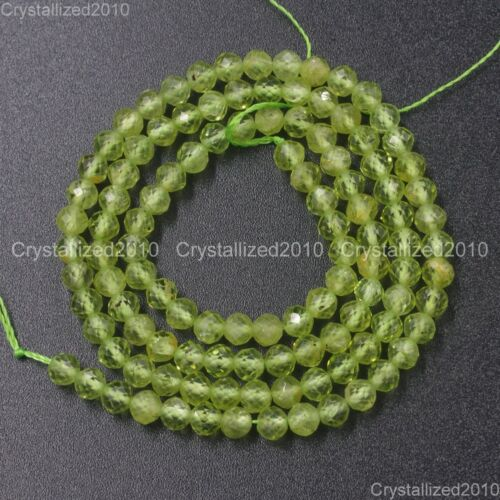 Grade AAA Brilliant Cut Shining Natural Gemstone 2mm 3mm 4mm Faceted Round Beads