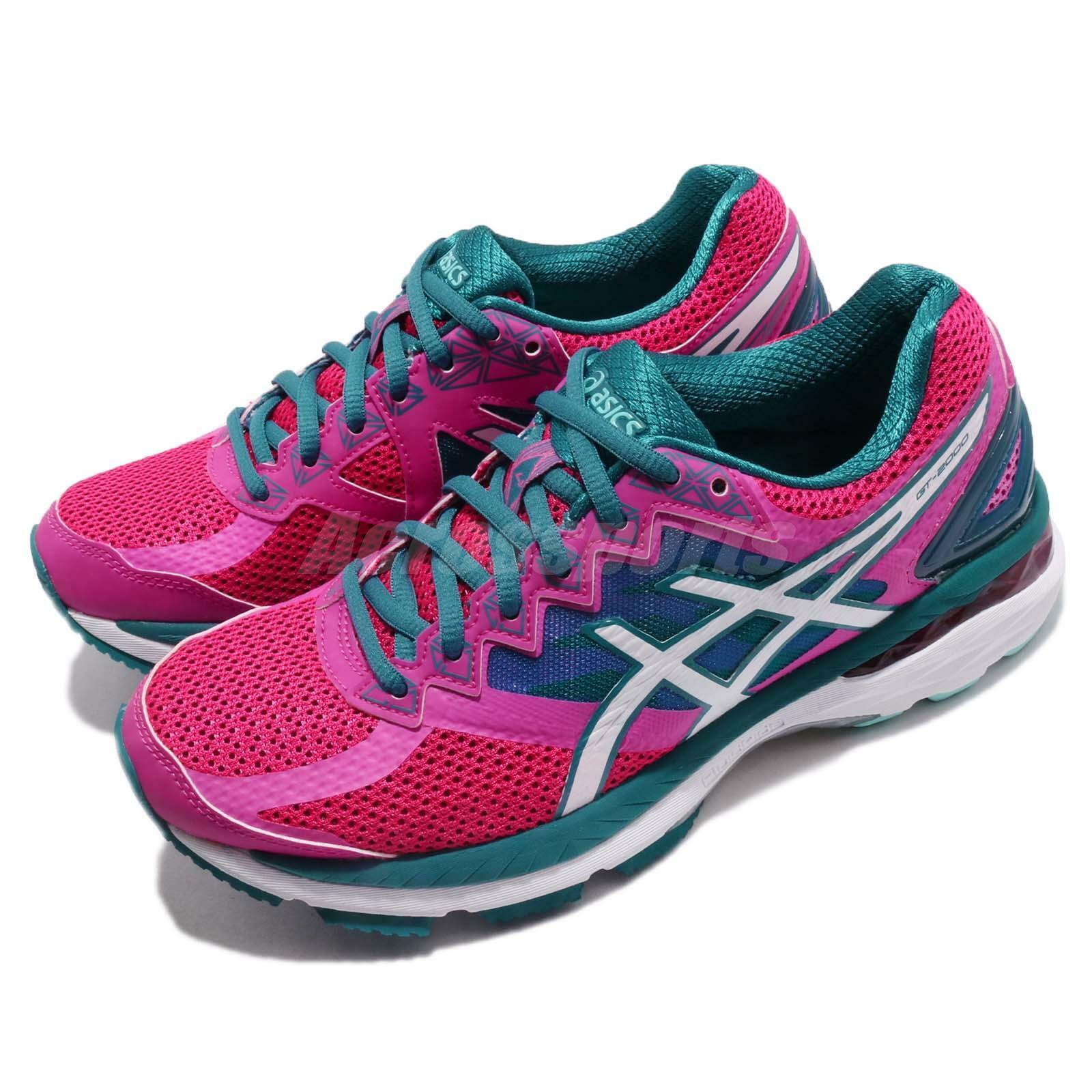 Asics GT-2000 4 V Pink bluee  Womens Running Training shoes Sneakers T656Q-2501  big discount prices