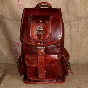 Leather-Backpack-Bag-Men-Laptop-S-Travel-Vintage-All-Large-Hiking-Satchel-Brown