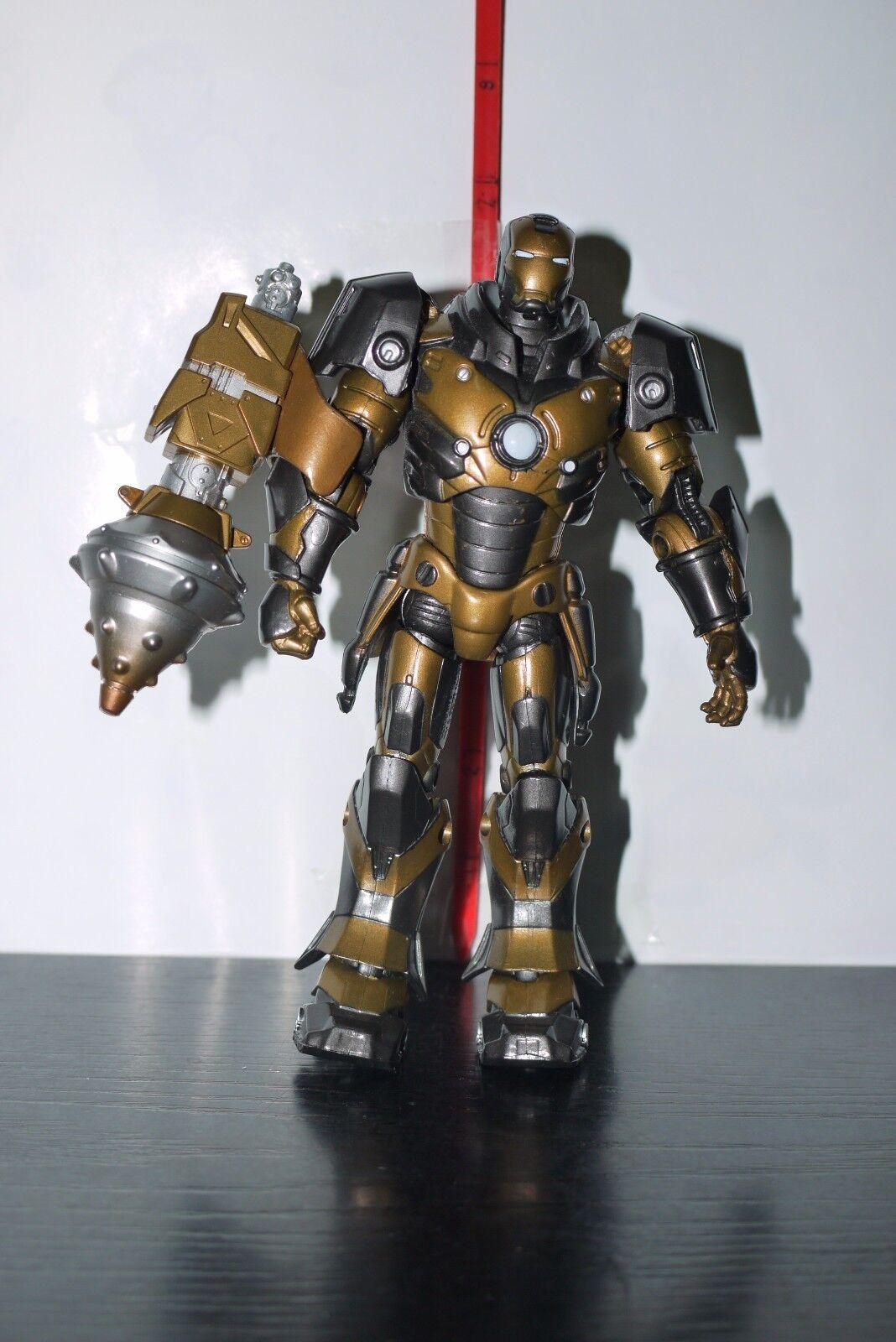 Iron Man Concept Series Subterranean Armor Action Figure 100% 100% 100% COMPLETE 77663d