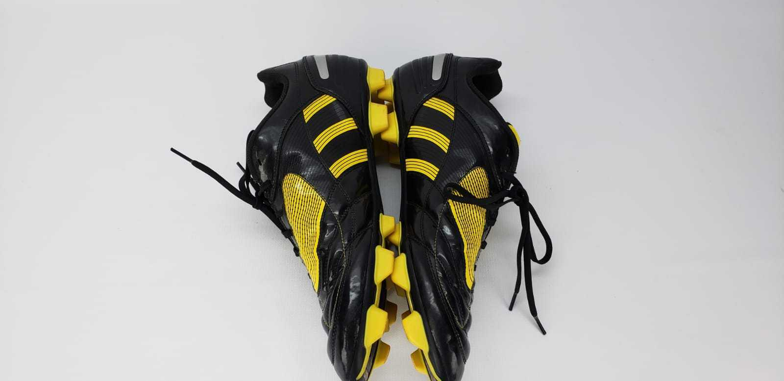 les crampons d'adidas traxion hommes jaune / / / noir taille 13 ccaa37