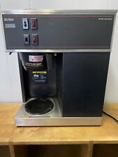 Bunn Vpr Black Commercial 12 Cup Pour Over Coffee Maker Works Great Nice