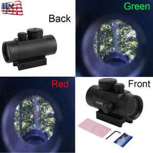 Dot Sight Scope Red Green Laser Fit Rifle Pistol With 2 Covers 20mm benefitup