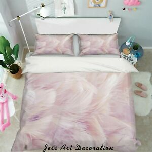 3D-Feather-Pattern-Quilt-Cover-Duvet-Cover-Comforter-Cover-Single-51