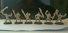 Citadel Games Workshop Warhammer Marauder Plague Bearers x6 metal oop unpainted