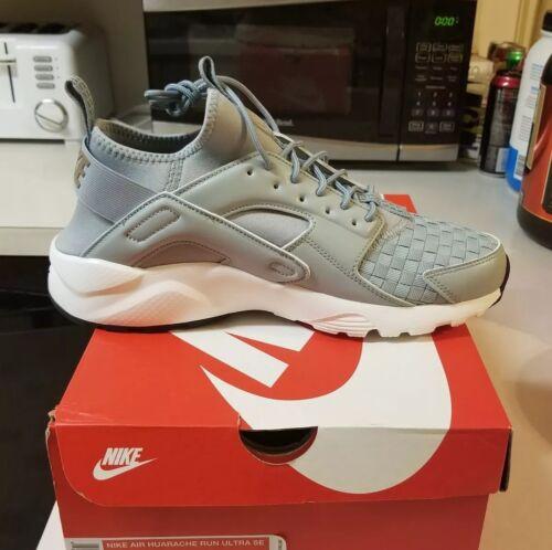 Nuovo Grigio Tessuto Uomo Training Running 5 Run Nike Huarache Se Scarpe Grigio Ultra 9 k0wOPn