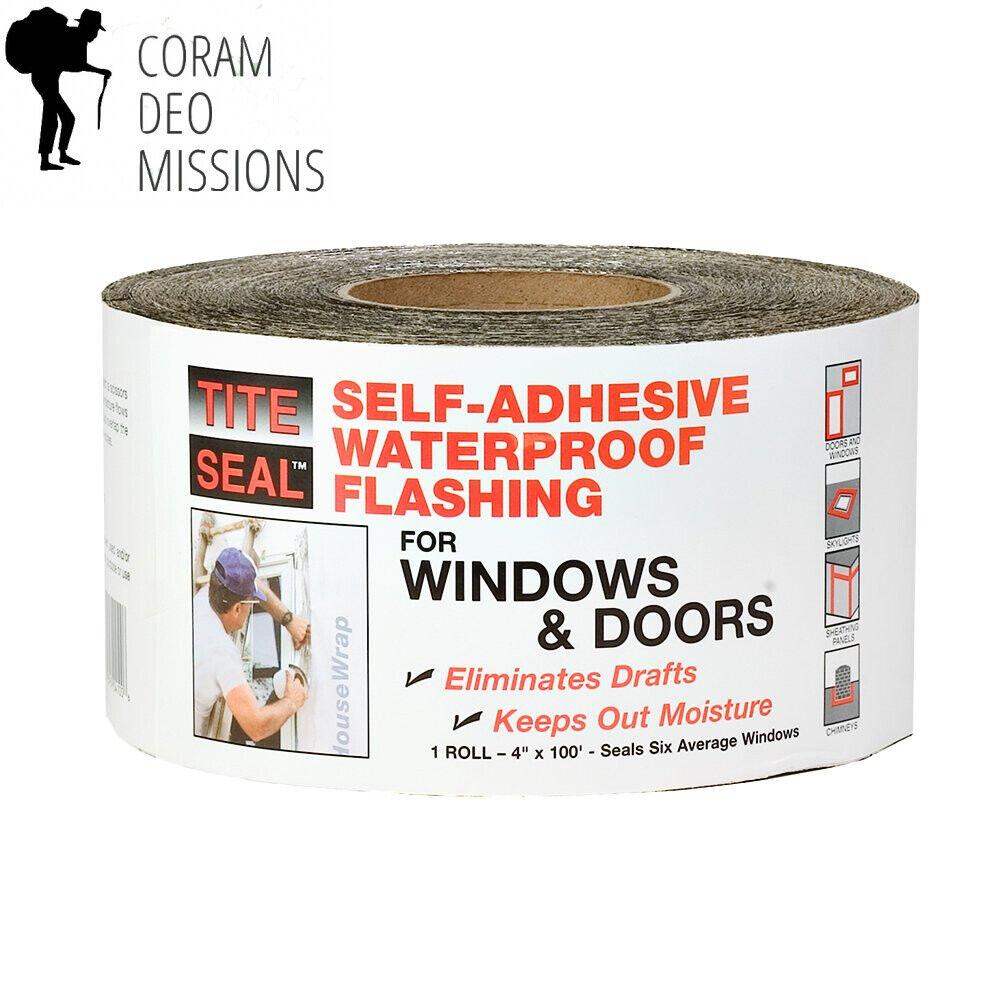 Cofair TS4100 Tite Seal Original Window Tape 4  x 100', 1 wood