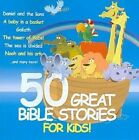 50 Great Bible Stories for Kids 0880831054928 by Various Artists CD