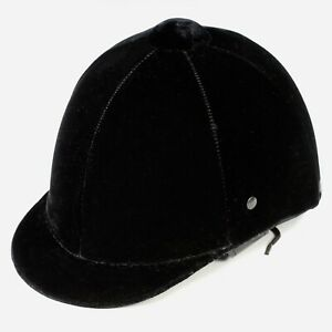 Children//Toddlers Adjustable Horse Riding Hat Ventilated Helmet Black