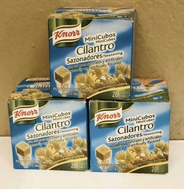 🔥3 Boxes🔥 Knorr Cilantro MiniCubes - Exp. Dates 9/19-10/19 Guaranteed Fresh!