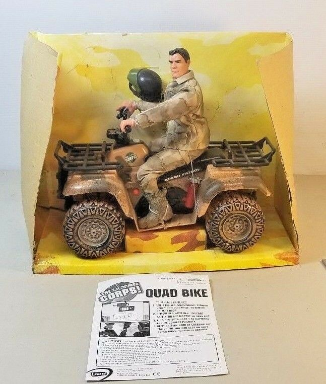 VINTAGE THE ULTRA CORPS QUAD BIKE MADE BY BY BY LANARD 2003 B3 420c39