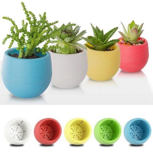 1 5x mini vasi da fiori balcone in vaso da giardino decorazione della casa WF