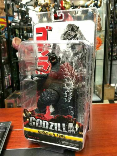 "NECA Godzilla 1985 7/"" Action Figure Movie Toy Collection Boxed"