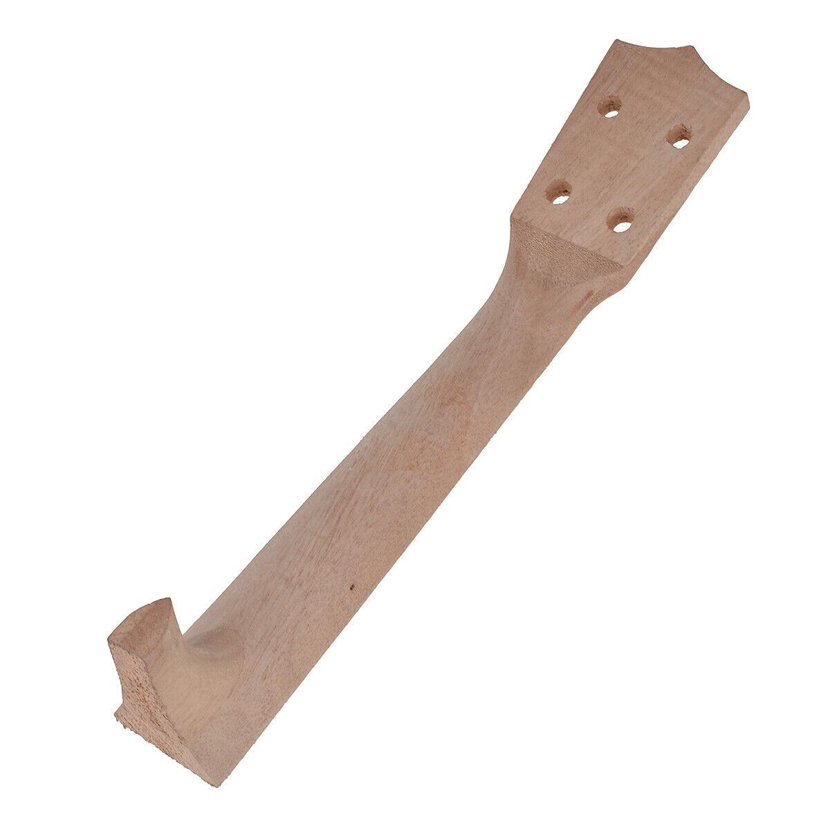 neck and fretboard for 26 inch tenor ukulele hawaii guitar parts maple wood ebay