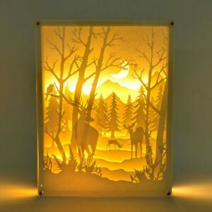 Home-Party-Christmas-Decor-Gifts-3D-Paper-Cut-Light-Box-with-USB-Cables-for-Dad