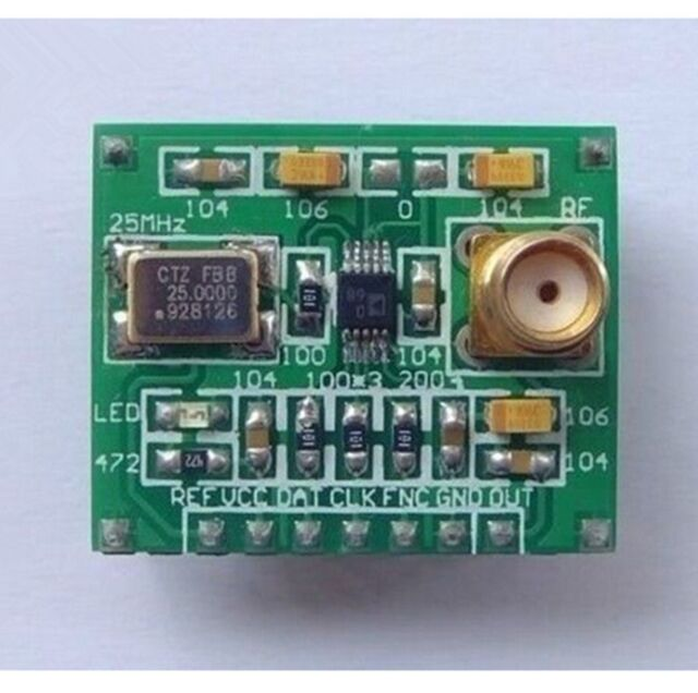 AD9833 Module DDS Signal Generator Module Wave + Circuit Diagram + Test programm