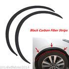 2x Car Fender Flare Wheel Eyebrow Protector Carbon Fiber Anti-Scratch Strip Trim