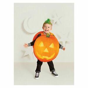 Brand New Halloween Pumpkin Dickie Bow Fancy Dress