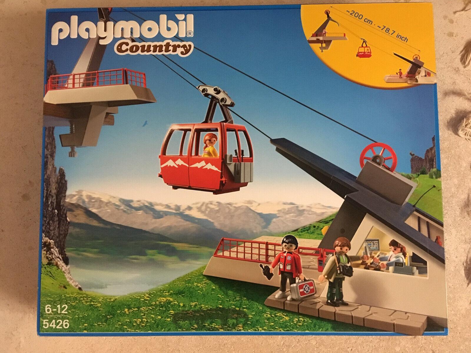 Playmobil 5426 Bergbahn Seilbahn Country NEU  ungeöffnet