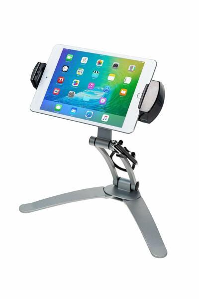 Winkelen Voor Goedkoop 2-in-1 Multi-flex Tablet Stand Wall Mount For 11-inch Ipad Pro Galaxy Tabs Black