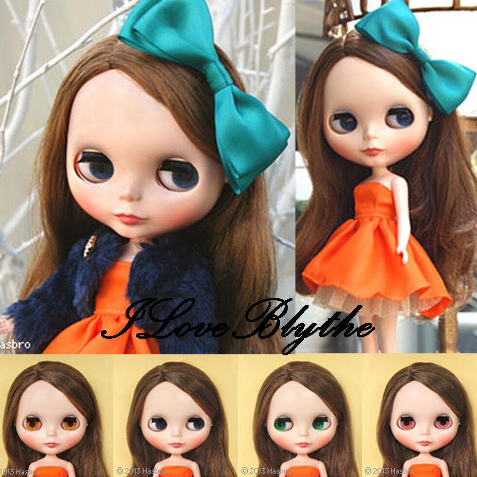 Hasbro Takara 12  CWC Neo Blythe Doll naranja y y y especias  autorización