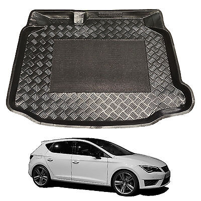 SEAT LEON ALL MODELS EXTRA Heavy Duty 2in1 Boot Liner Seat Pet Protector