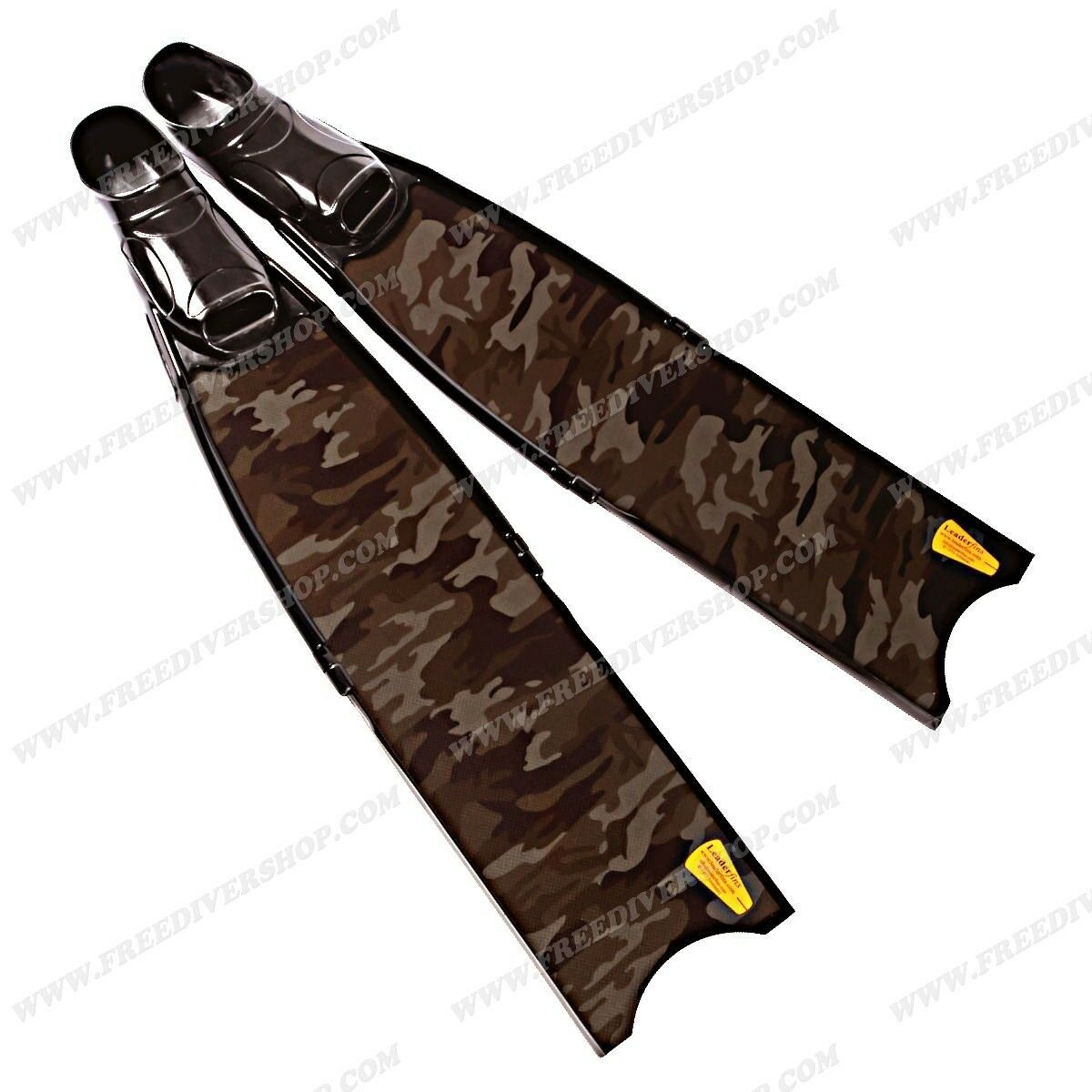 Leaderfins Carbon Camo Freediving Spearfishing  Fins - ALL SIZES  online cheap