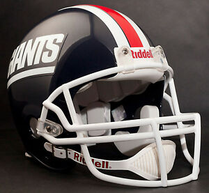 buy popular 7d873 e3584 Details about NEW YORK GIANTS 1976-1979 Riddell AUTHENTIC Throwback  Football Helmet NFL