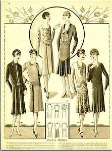 Publicite-Ancienne-Mode-Jolies-Robes-1930