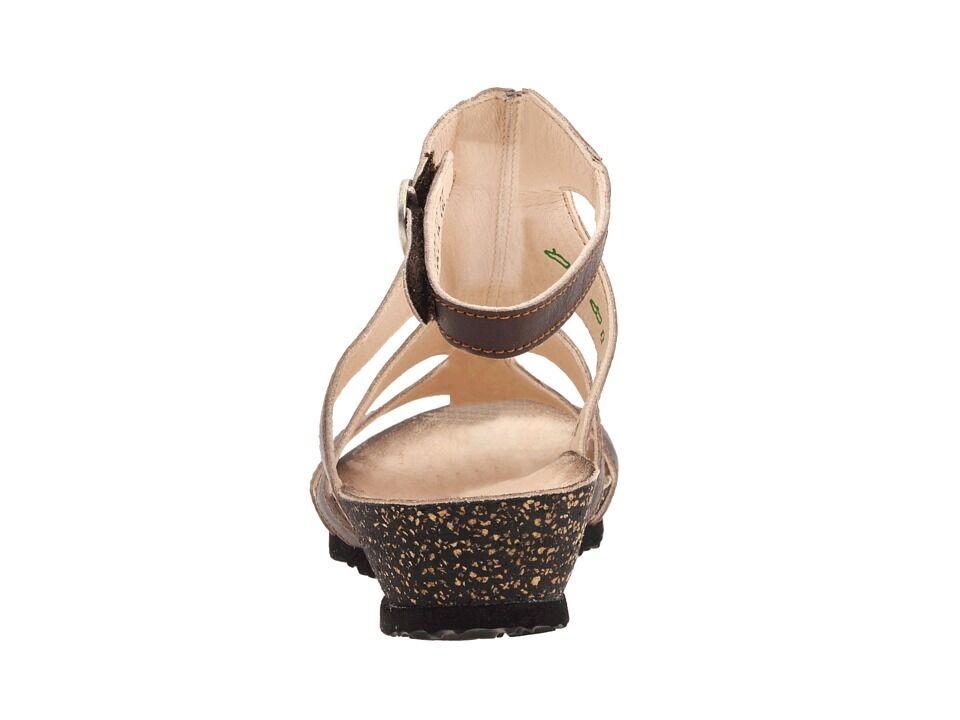 195 Think  Dumia Braun Sandales Leder Ankle Strap Gladiator Sandales Braun Schuhes 36 5 5.5 18396a